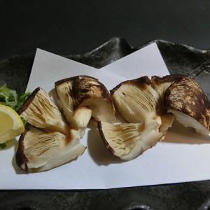 原木焼き椎茸350円