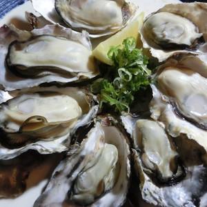 若狭産牡蠣の酒蒸し819円