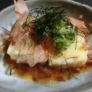 豆腐の揚げだし294円